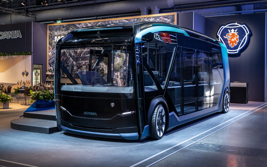 Taking urban transport to the NXT level – a new concept from Scania