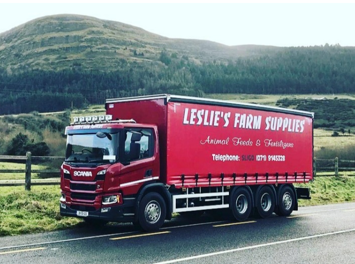 Best Wishes to Leslie's Farm Supplies Scania P450