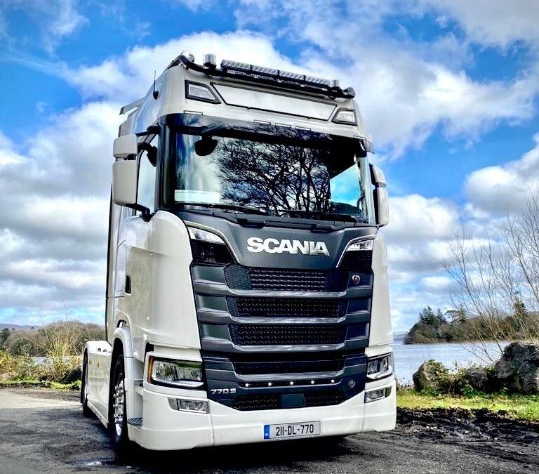 Best Wishes to Danny Murray Scania S770 4×2
