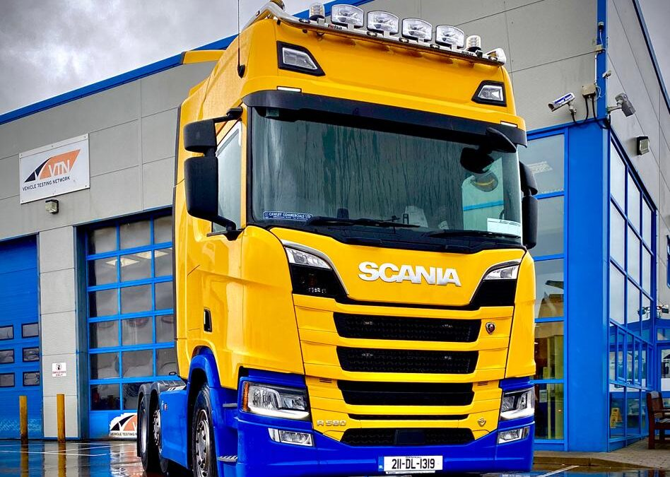 Best of luck to Donegal Co Co Scania R580