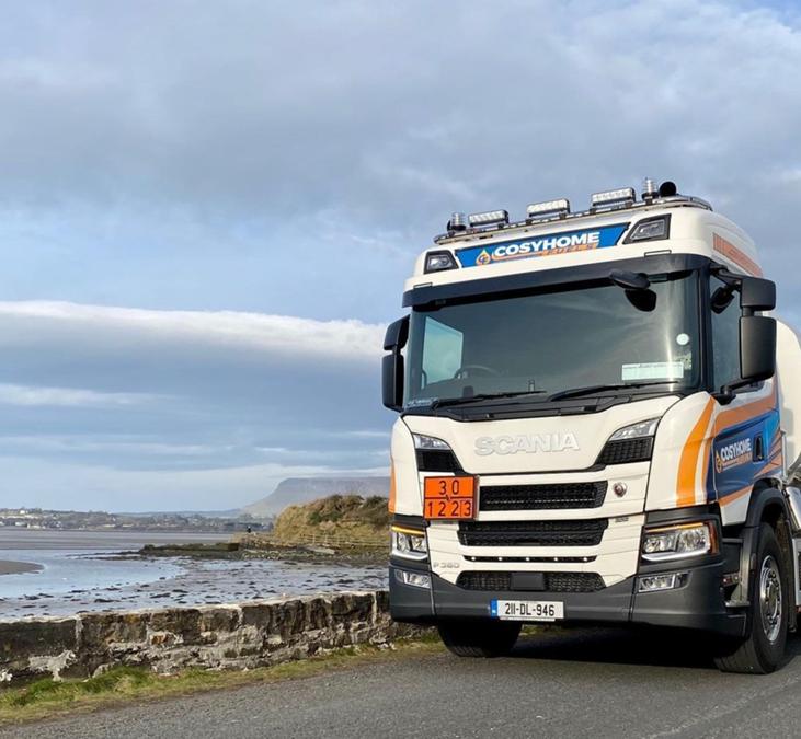 Congrats to Coyshome Fuels Scania P360 4×2 Rigid Tanker