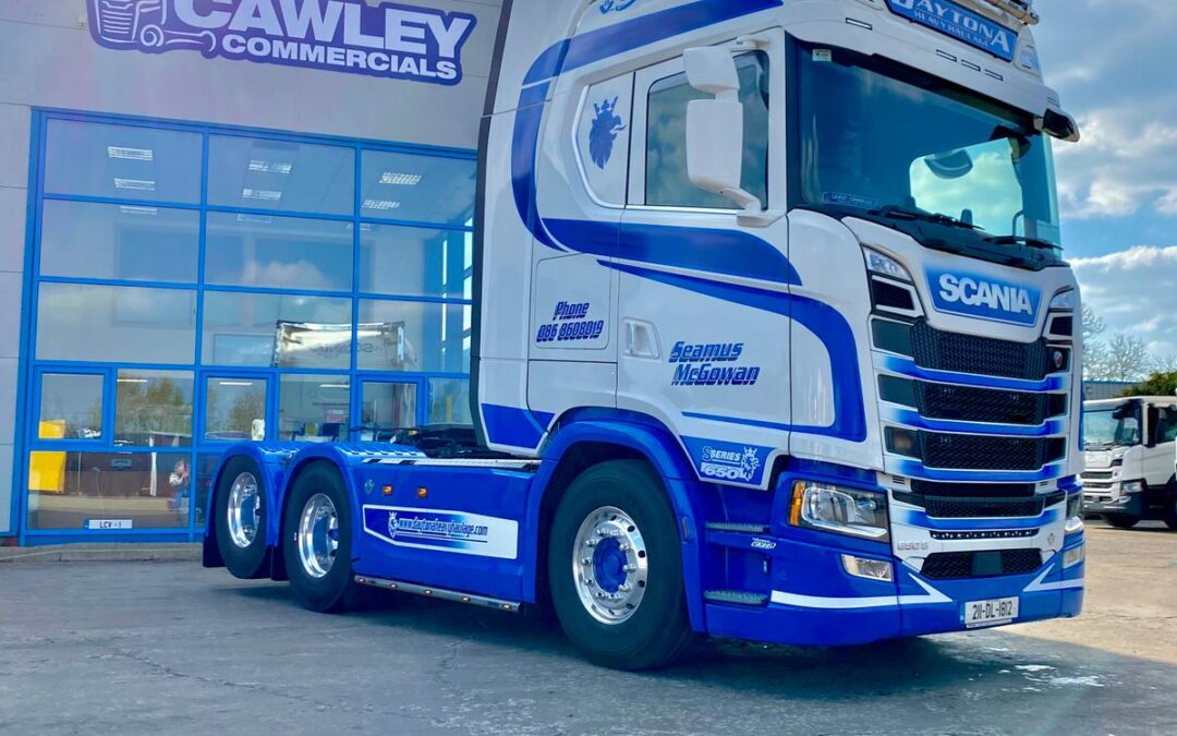 Best of luck to Daytona Heavy Haulage Scania S650 6×2