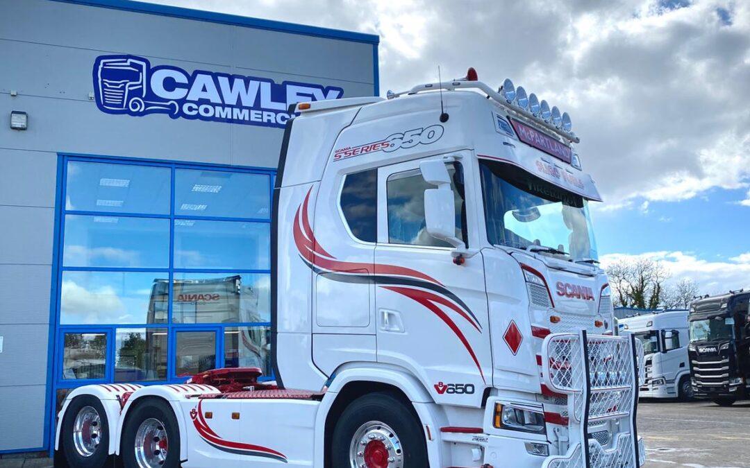 Best of luck to Sligo Fuels New Scania S650